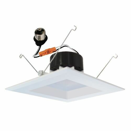 Square Insert Reflector 6 LED Recessed Trim by Elco Lighting