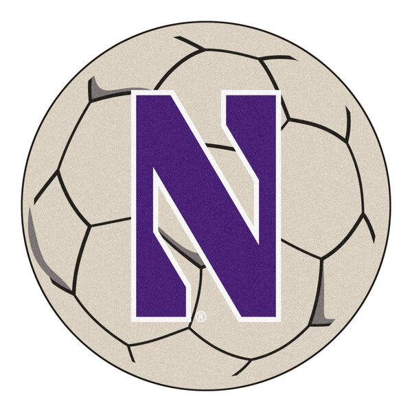 NCAA Northwestern University Soccer Ball by FANMATS