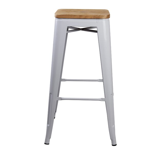 Hentges 30 Bar Stool (Set of 4) by Williston Forge