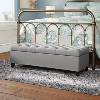 Amalfi Upholstered Storage Ottoman by Three Posts SKU:DA272316 Guide