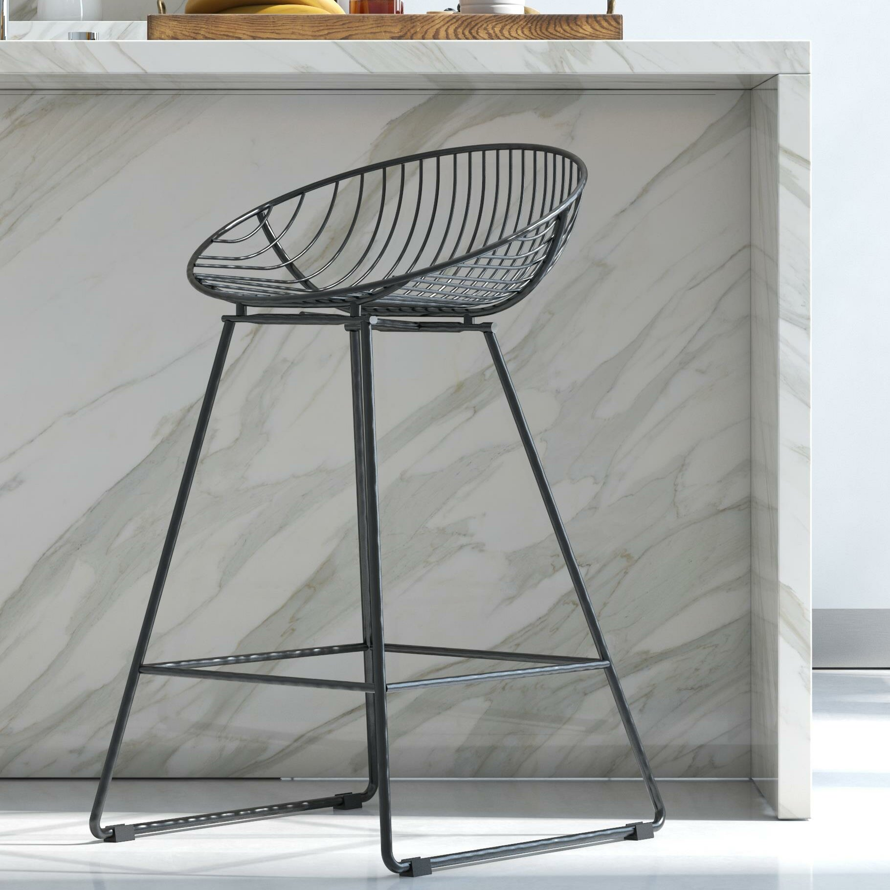Fabulous Ellis 24 5 Bar Stool Beatyapartments Chair Design Images Beatyapartmentscom