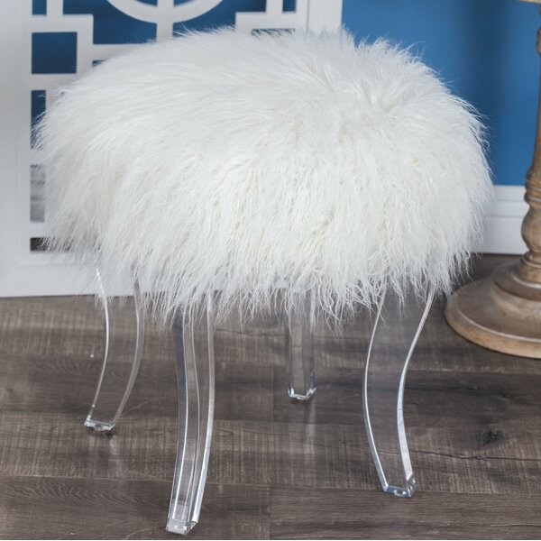 Nevitt Vanity Stool by House of Hampton