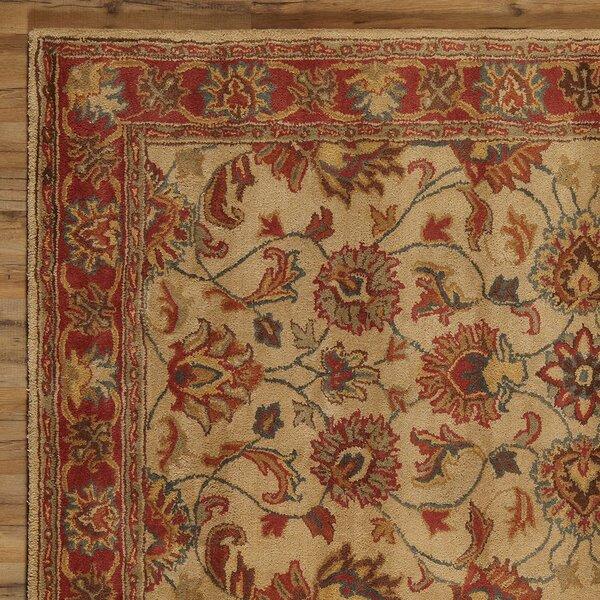 Arden Brick Hand-Woven Wool Area Rug by Birch Lane™