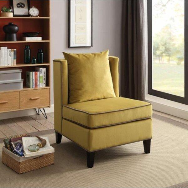Rodrigez Slipper Chair By Everly Quinn