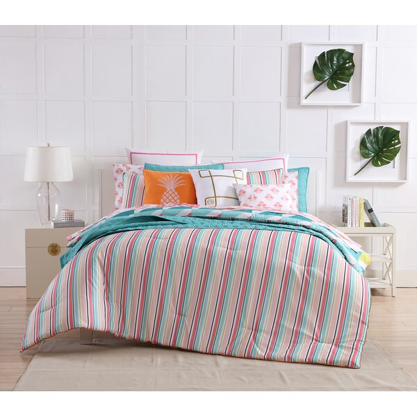Tropical Reversible Comforter Set by clairebella