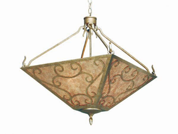 Bandolei 4-Light Bowl Pendant by 2nd Ave Design