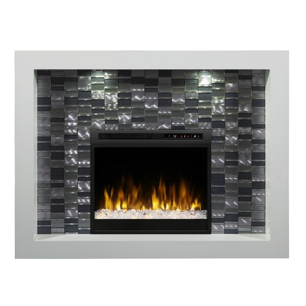 Crystal Recessed Electric Fireplace by Dimplex Dimplex