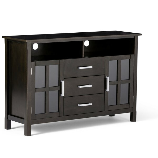 Burriss Solid Wood TV Stand For TVs Up To 55