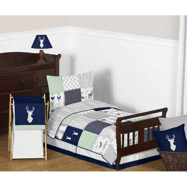 Woodsy 5 Piece Toddler Bedding Set by Sweet Jojo Designs