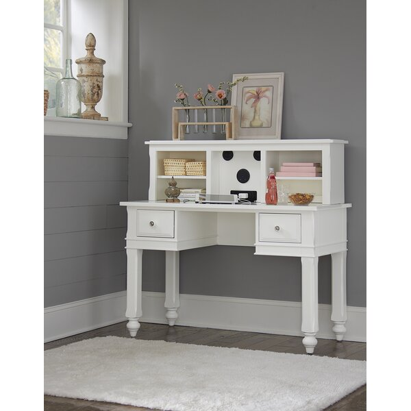 Javin 48 Writing Desk with Hutch by Harriet Bee