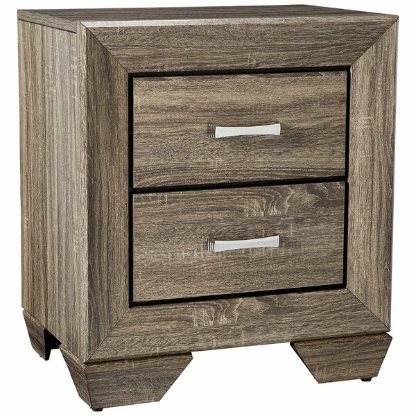 Nylah 2 Drawer Nightstand by Foundry Select