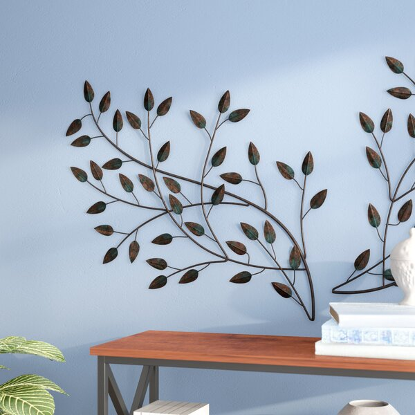 Blowing Leaves Wall Décor by Andover Mills