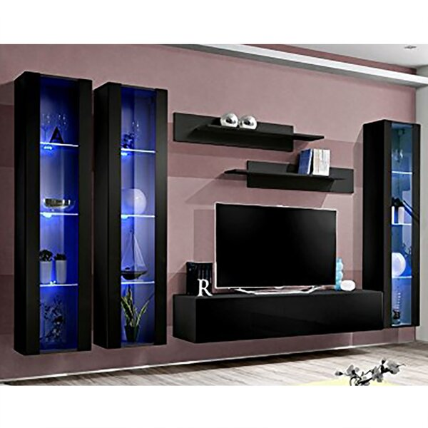 Voorhees Floating Entertainment Center For TVs Up To 88