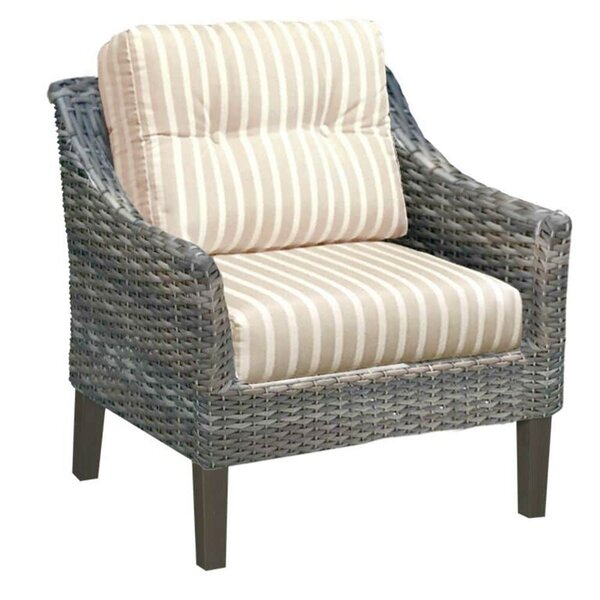 Denson Patio Chair with Sunbrella Cushions by Highland Dunes Highland Dunes