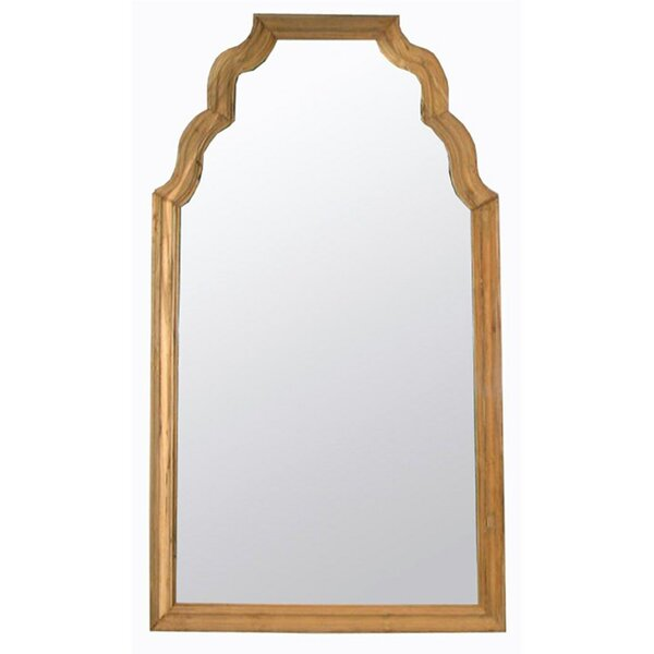 Reclaimed Teak Wall Mirror by Noir