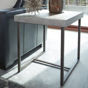 Heitzman End Table by Brayden Studio