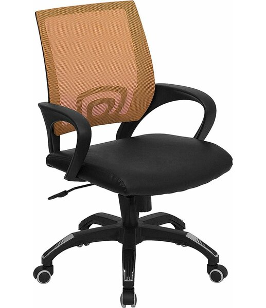 Kucera Mid-Back Ergonomic Mesh Swivel Office Chair by Symple Stuff