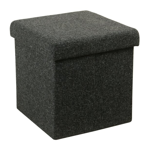 Kyleigh Collapsible Storage Ottoman by Winston Porter