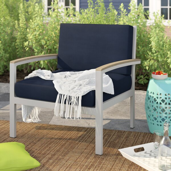 Caspian Patio Chair with Cushions by Sol 72 Outdoor Sol 72 Outdoor