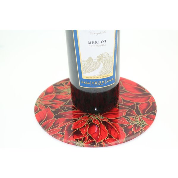 Poinsettia Trivet by Andreas Silicone Trivets