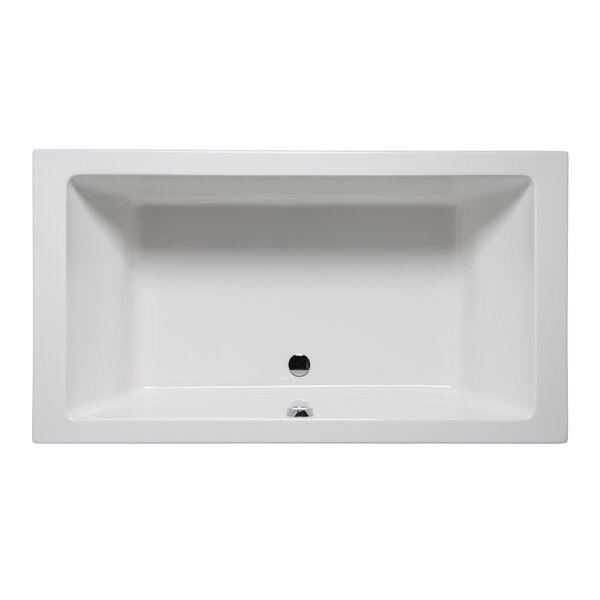 Vivo 72 x 36 Drop in Soaking Bathtub by Americh