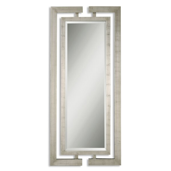 Rectangle Silver Wood Mirror by Willa Arlo Interiors
