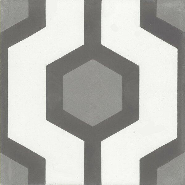 Delano 8 x 8 Cement Field Tile