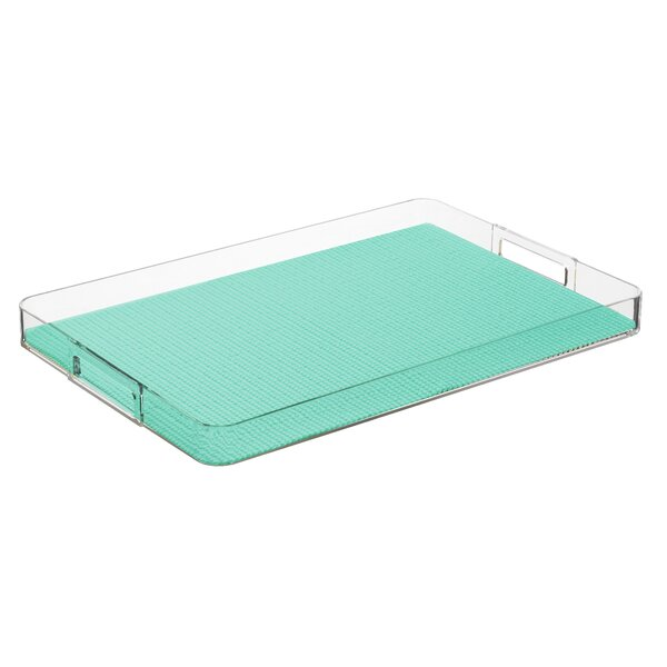 Adelyte Rectangular Serving Tray by Highland Dunes