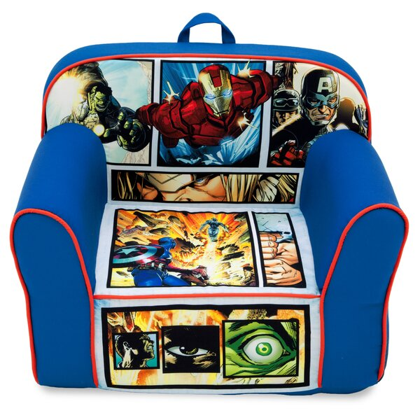 Marvel Avengers Kids Club Chair by Delta Children