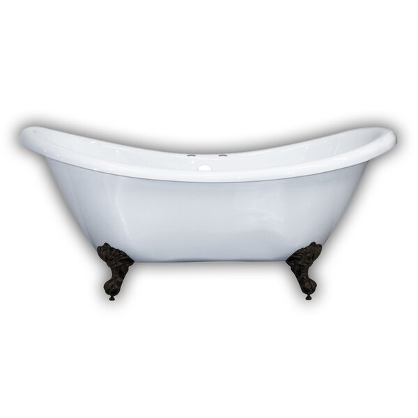 69 x 29 Clawfoot Bathtub by Cambridge Plumbing