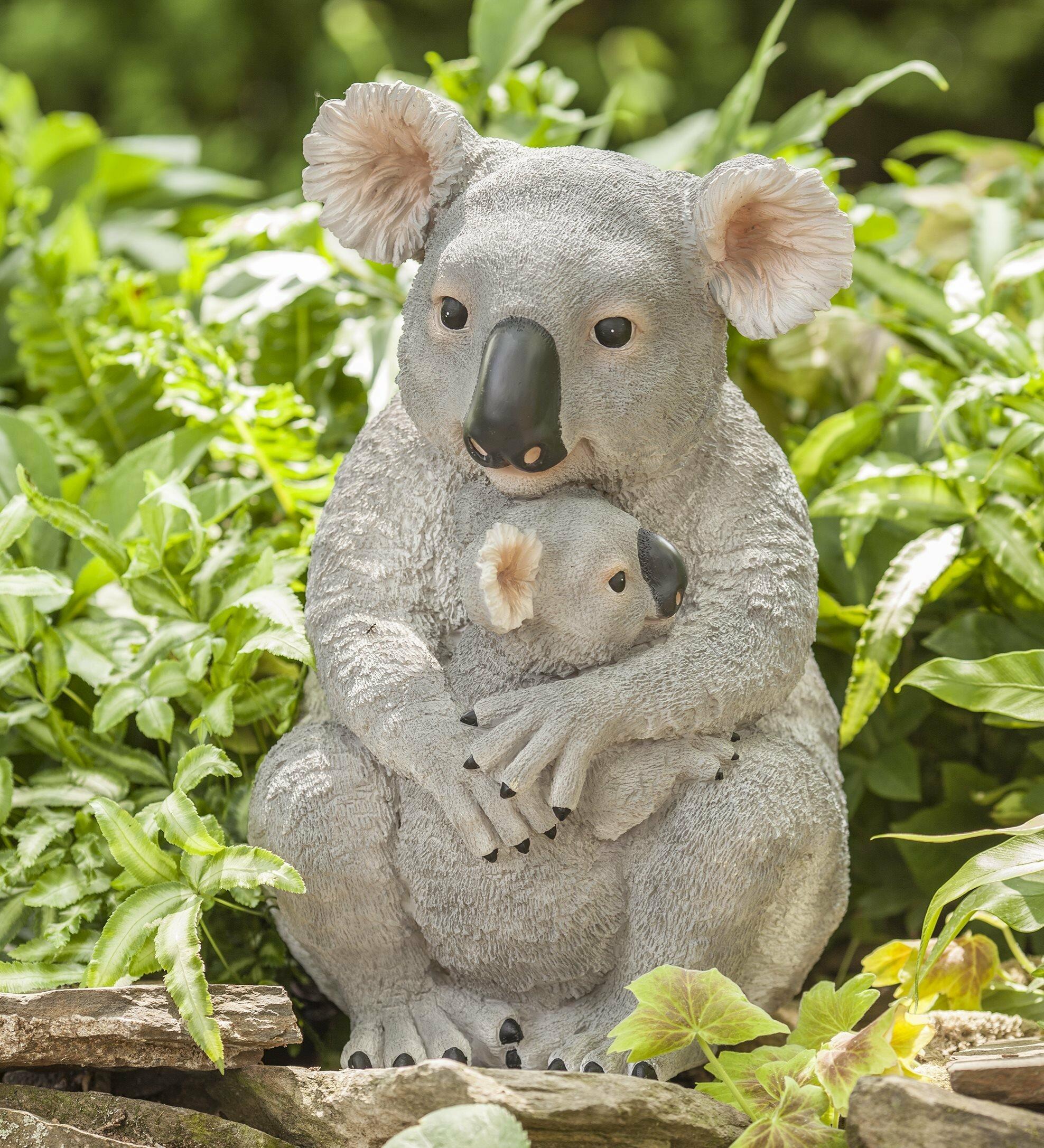 13 Climbing Koala Bear Animal Sculpture Statue Figurine