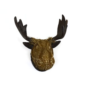 Moose Wall Decor moose rectangle wall decor | wayfair