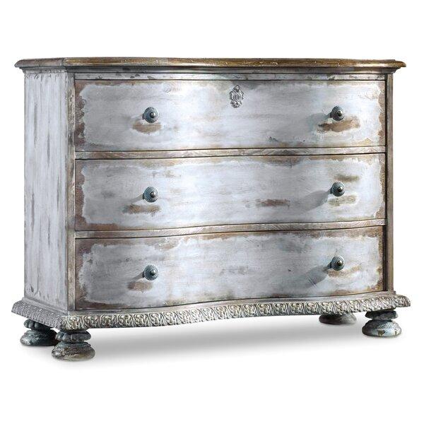 Chatelet 3 Drawers Standard Dresser by Hooker Furniture