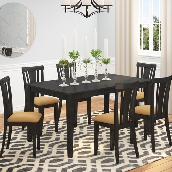 Oneill Modern 7 Piece Wood Dining Set by Andover Mills