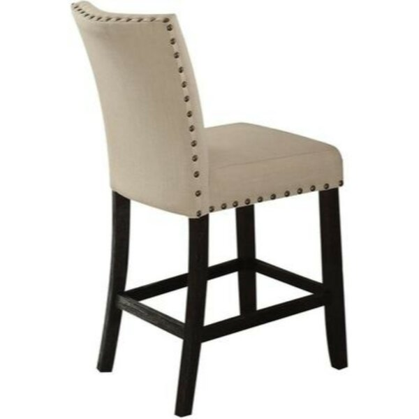 Barter Counter Height Upholstered Dining Chair (Set of 2) by Charlton Home