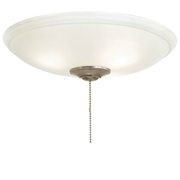 Universal 3-Light Bowl Ceiling Fan Light Kit by Minka Aire