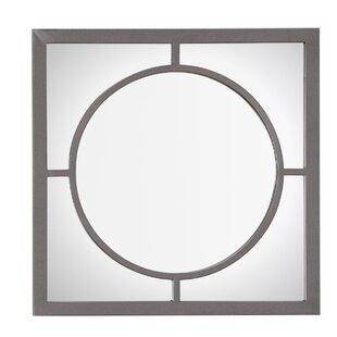 Charlton Home Firkins Square Wall Accent Mirror
