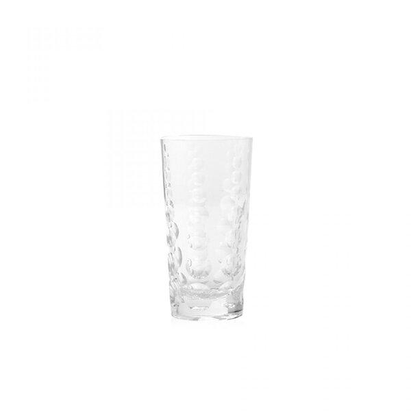 Draper Glass Highball Glass (Set of 6) by Brayden Studio