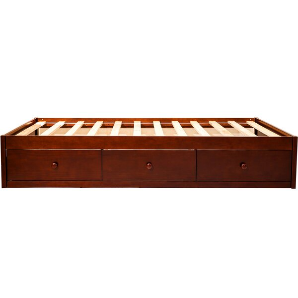 Senac Twin Platform Bed with 3 Drawers by Winston Porter