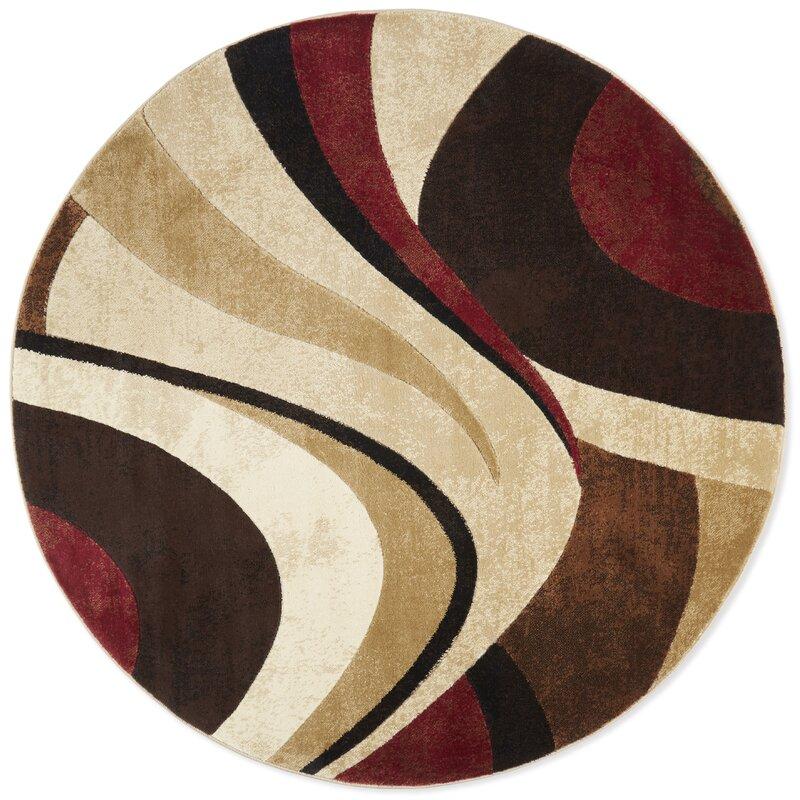 Ebern Designs Giannini Abstract Brown