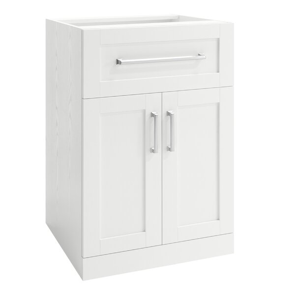 Home Bar 2 Door Drawer Accent Cabinet