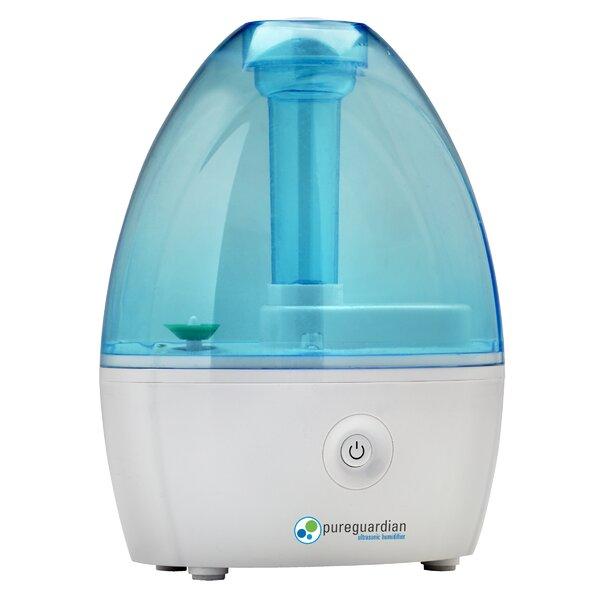 PureGuardian 0.21 Gal. Cool Mist Ultrasonic Tabletop Humidifier by Guardian Technologies