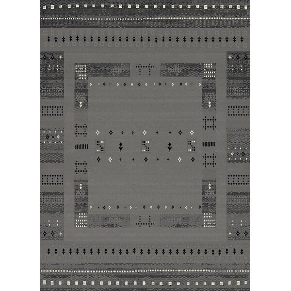 Marana Anti-Bacterial Gray Indoor/Outdoor Area Rug by Bloomsbury Market