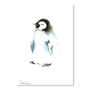 Baby Penguin Painting by East Urban Home