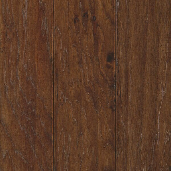 Hinsdale 5 Engineered Hickory Hardwood Flooring in Chocolate by Mohawk Flooring