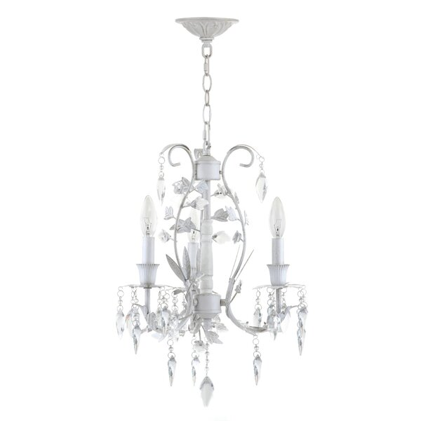 Chard 3-Light Candle Style Chandelier by House of Hampton