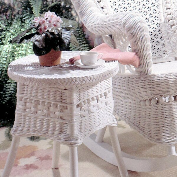 End Table by Yesteryear Wicker