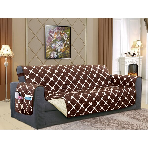 Reversible Furniture Protector Box Cushion Chaise Lounge Slipcover by Winston Porter