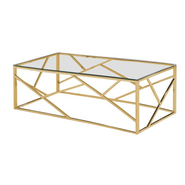 Jud Angled Coffee Table by Orren Ellis