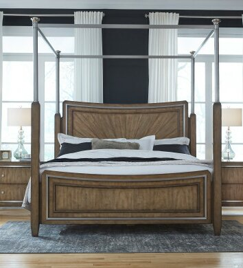 Sather Canopy Bed by House of Hampton
